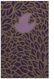 rug #641681 |  mid-brown graphic rug
