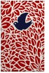 rug #641689 |  red graphic rug