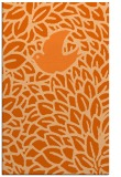 rug #641709    red-orange animal rug