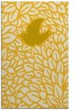 rug #641737    yellow graphic rug