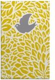 rug #641749 |  yellow animal rug