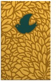 rug #641753 |  light-orange animal rug