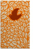 rug #641765 |  orange animal rug