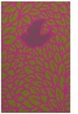 rug #641777 |  light-green graphic rug