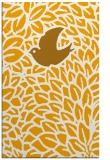 rug #641785    light-orange animal rug