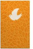 rug #641793 |  light-orange animal rug