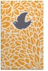 rug #641797 |  light-orange graphic rug