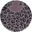 rug #642037 | round purple animal rug