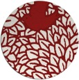 rug #642052 | round graphic rug