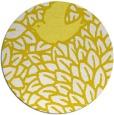 rug #642077 | round white graphic rug