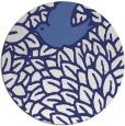 rug #642081 | round blue rug