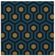 rug #642525 | square black retro rug
