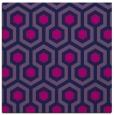 rug #642533 | square blue retro rug