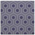 rug #642593 | square blue-violet retro rug