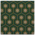 rug #642625 | square brown geometry rug