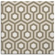 rug #642645 | square white geometry rug