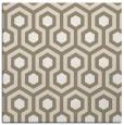 rug #642645 | square mid-brown retro rug