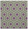 rug #642685 | square purple retro rug