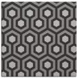rug #642705   square red-orange rug