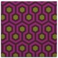 rug #642733 | square purple retro rug