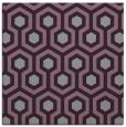 rug #642741 | square purple geometry rug