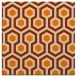 rug #642821 | square beige geometry rug
