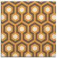 rug #642853   square light-orange retro rug