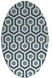 rug #642881 | oval geometry rug