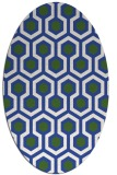 rug #642904 | oval retro rug