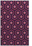 rug #643301 |  blue-violet popular rug