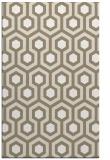 rug #643349 |  white retro rug