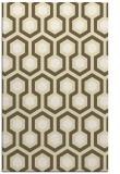 rug #643501 |  yellow rug