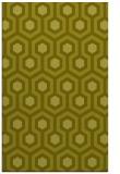 rug #643529 |  light-green retro rug