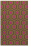 rug #643537 |  light-green retro rug