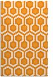 rug #643553 |  light-orange retro rug