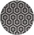 rug #643608 | round retro rug