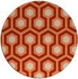 rug #643757 | round beige retro rug