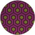 rug #643789 | round purple retro rug