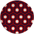 rug #643801   round red rug
