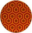 rug #643808   round geometry rug