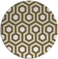 rug #643855 | round retro rug
