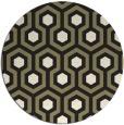 rug #643869   round retro rug