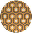 rug #643909   round light-orange retro rug
