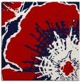 rug #646265 | square red natural rug