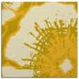 rug #646313   square yellow rug