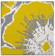 rug #646325 | square yellow natural rug