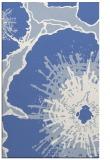 rug #646769 |  blue abstract rug