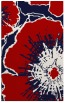 rug #646969 |  red abstract rug