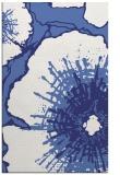 rug #647009    blue abstract rug