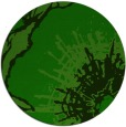 rug #647149 | round green abstract rug